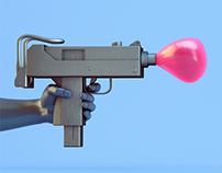 Balloon angry type