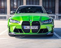BMW M3 (G80) Competition M Performance Parts
