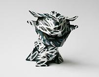 Little Flux - Custom Little Ox resin toy