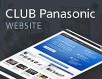 Club Panasonic website