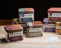 Artisan Salt Company Packaging Design