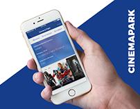 CINEMAPARK. Mobile applications