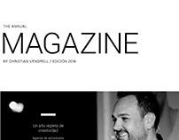Identity Peluqueros. Annual brochure 2016.