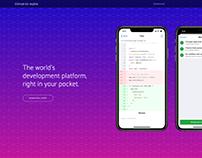 Concept: Github for mobile website