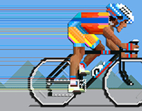 Pixel art 69 (The bicycle)
