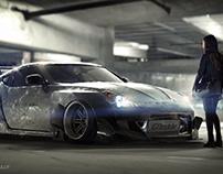 Nissan Custom Car Concept