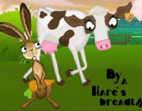 By a hare's breadth (Hoe n koe n haas vangt)