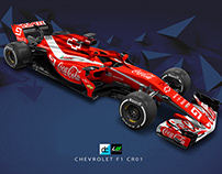 Chevrolet Racing F1 concept livery (Late Braking)