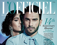 Ranveer Singh - 14th Anniversary Issue