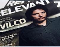 Relevant Magazine Sept/Oct 2009 Cover - Wilco