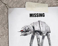 Missing AT-AT Walker