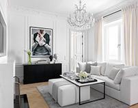 Fashion director's ELLE DECORATION apartments