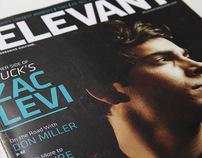 Relevant Magazine January/Feb 2010 Cover - Zac Levi