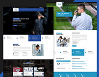 Hawkeye - Security Service HTML Template