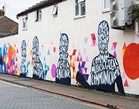 Street art and live art