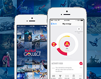 Red Bull MOBILE Collect - iOS and Android Application