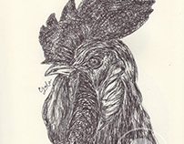 Ballpen Handsome Chickens