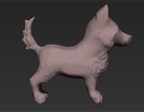 Dog - sculp.