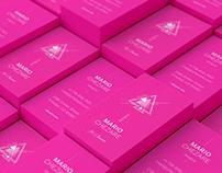 Chezare 02. Business card template