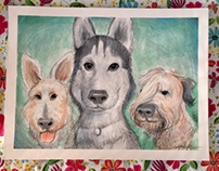 Dogs in Heaven created to keep remember loved ones