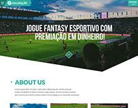 Escalacao - Landing Page Design Inspiration