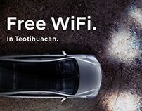 """""""Free Wifi In Teotihuacan"""" Proyecto de red inalámbrica"""