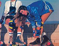 Southsea Skatepark Roller Disco 2013 Poster