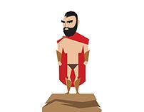 300 | Leonidas & Xerxes