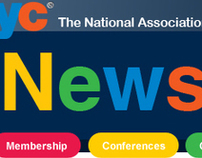 e-News Redesign for NAEYC