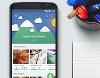 Sengab Mobile App, UI, UX