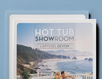 Hot Tub Showroom Flyer