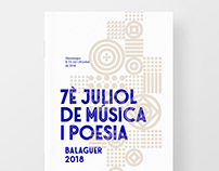 Music & Poetry Festival identity