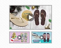AFF (Havaianas) In-Store Videos
