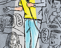 Stand Up Illustration by Mark Kaufman