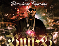 Throwback Thursday Promo Flyer | Bun B