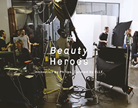 Elle x Philips - Beauty Heroes Campaign - Backstage