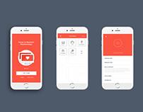 UI Design Challenge - Long Distance Dating Application