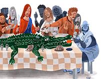 Alligator for Lent