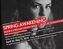 Poster: Spring Awakening (a play)