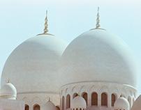 Sheikh Zayed Mosque captured on LEICA R5