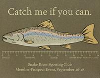 Snake River Sporting Club Member/Guest Invite