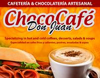 Volante Promocional de Chococafé Don Juan