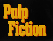 Pulp Fiction: Title Sequence Recreation