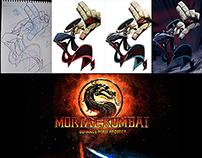"""KUNG LAO """"Mortal Kombat- Behance Perú Projeck"""""""