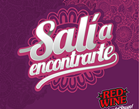 Salí a encontrarte - Red Wine