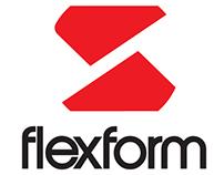 Redesign de Logotipo | Flexform |
