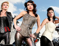 Rebel Girl: Biker Couture Look Book S/S 2011