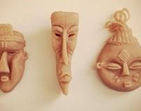 Sculpey Masks