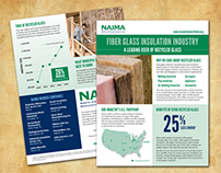 NAIMA Fiber Glass Infographic Flyer