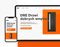 DRE - New website and web application